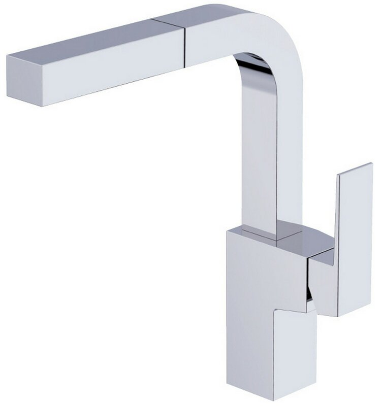 danze mid-town single handle deck mount kitchen faucet & reviews