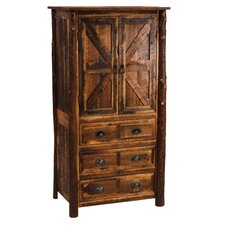 Value Barnwood Armoire by Fireside Lodge