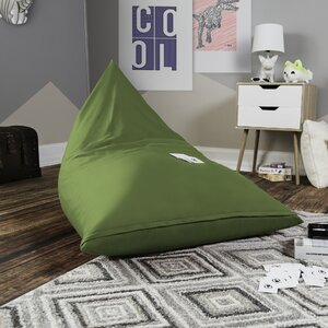 Pivot Kids Bean Bag Lounger Chair with Cotton Cover by Harriet Bee