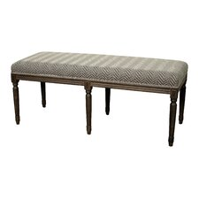 Madeline Wood Dining Bench by New Pacific Direct