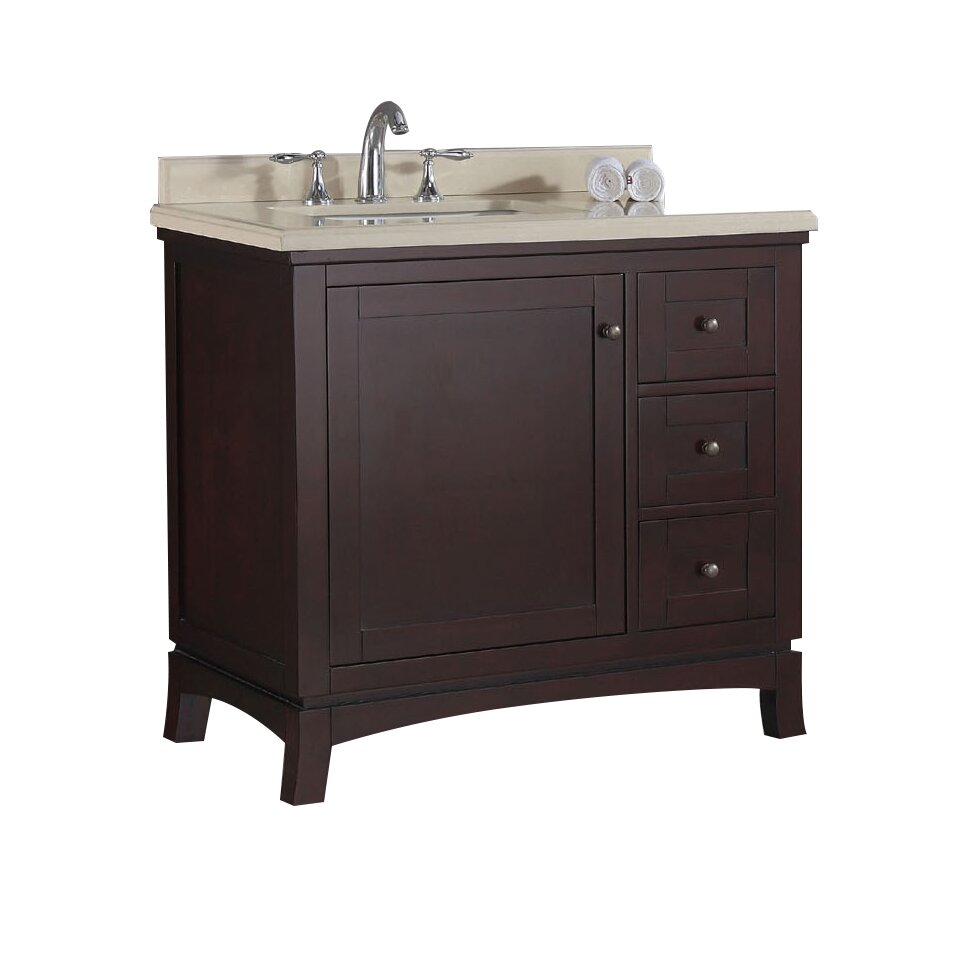 ove decors valega 36 single bathroom vanity set reviews wayfair. Black Bedroom Furniture Sets. Home Design Ideas