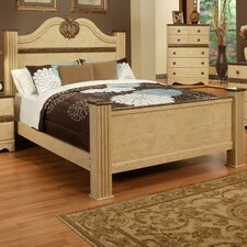 Casa Blanca Panel Bed by Sandberg Furniture