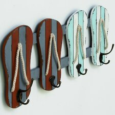 Wood Metal Wall Hook by Cole & Grey