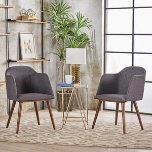 Newington Upholstered Dining Chair (Set of 2) by George Oliver