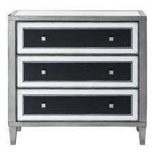 Claudine 3 Drawer Accent Chest by Rosdorf Park