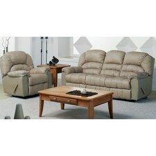 Taurus Leather Reclining Sofa by Palliser Furniture