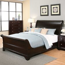 Stephenson Queen Sleigh 4 Piece Bedroom Set by Three Posts