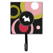Scottish Terrier Leash Holder and Wall Hook by Caroline's Treasures