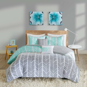 chevron bedding sets you'll love | wayfair
