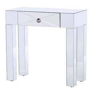 Antonia Mirrored Console Table
