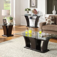 Sims Coffee Table Set by Wade Logan