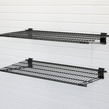 2 Piece Bracket Shelving Unit by Flow Wall