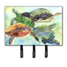 Turtle Leash Holder and Key Hook by Caroline's Treasures