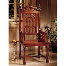 Gothic Tracery Cathedral Armchair by Design Toscano