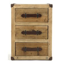 Abott 3 Drawer Nightstand by Zentique Inc.