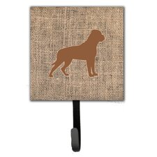 Rottweiler Leash Holder and Wall Hook by Caroline's Treasures