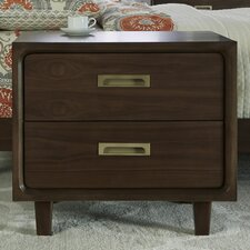 Arlo 2 Drawer Nightstand by Corrigan Studio