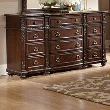 Hillcrest Manor 12 Drawer Standard Dresser by Woodhaven Hill