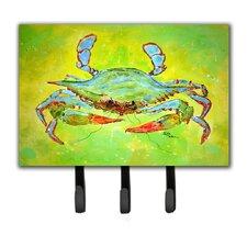 Bright Crab Key Holder by Caroline's Treasures