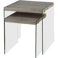 Gaynor 2 Piece Nesting Tables by Mercury Row