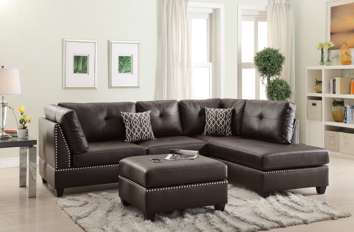 Bobkona Viola Reversible Sectional