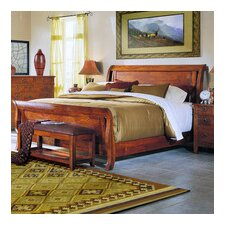 Baxter Sleigh Bed by Klaussner Furniture