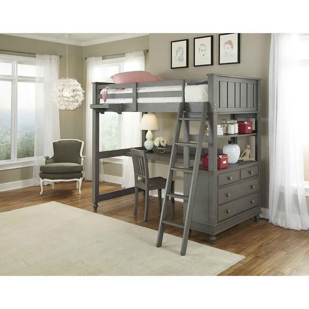 Hatcher Loft Bed & Reviews   Birch Lane