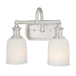 Elliot 2-Light Vanity Light Vaxcel