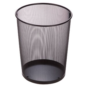 Wire Mesh Waste Basket Honey Can Do