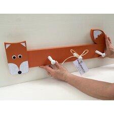 Fox Peg Rack by Maple Shade Kids