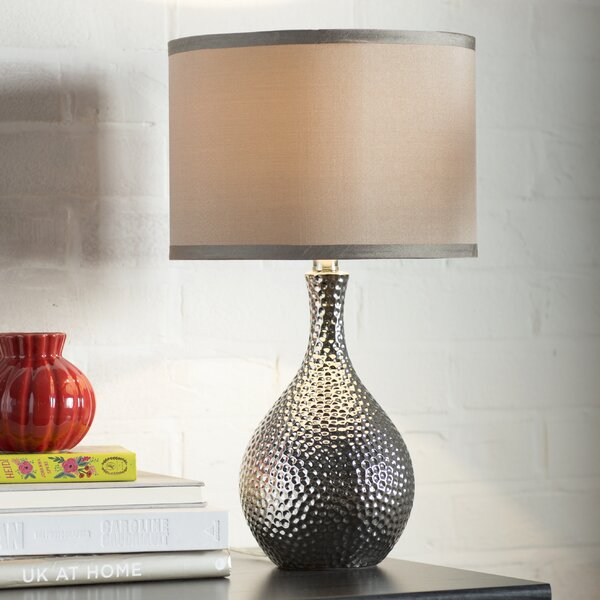 Mercury Row Gama 21 5 Quot Table Lamp With Drum Shade