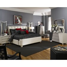 Beverly Boulevard Platform Customizable Bedroom Set by Michael Amini (AICO)