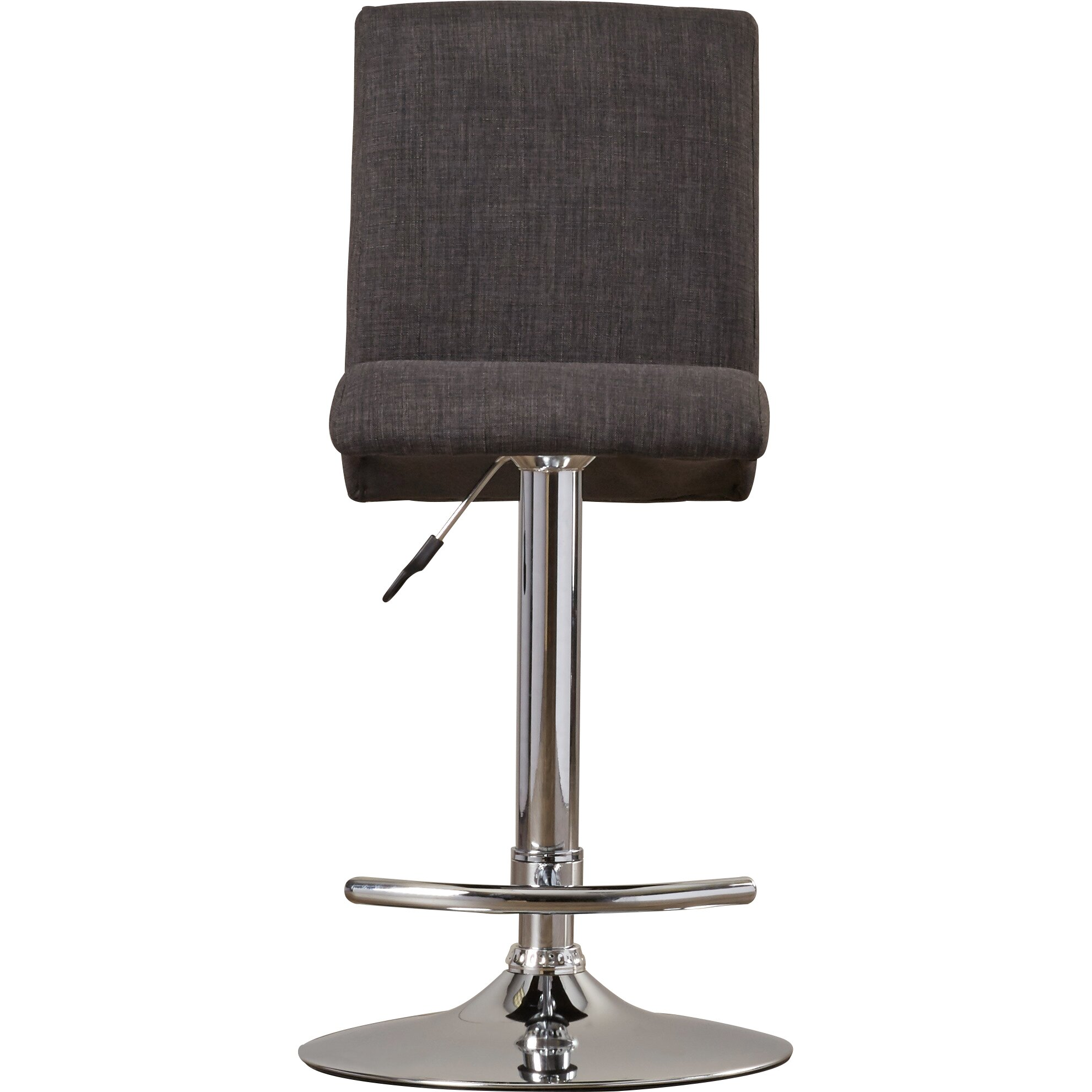 Wade Logan Lular Adjustable Height Swivel Bar Stool