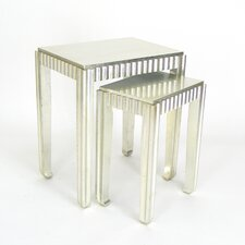2 Piece Nesting Table Set I by Wayborn