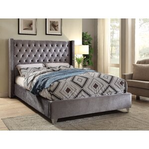 inverness upholstered platform bed - King Bed Frame Platform
