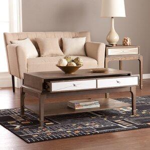 acrylic ghost coffee table | wayfair