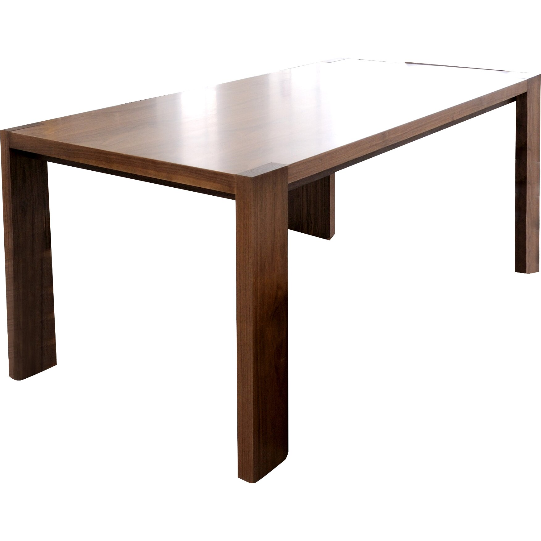 Gus modern plank dining table reviews wayfair for Regulation 85 table a