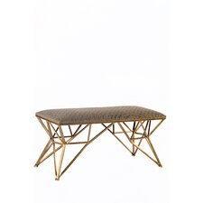 Carly Gold Entryway Bench by Statements by J