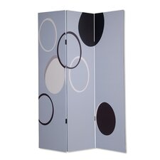 72 x 48 Molalla 3 Panel Room Divider by Screen Gems