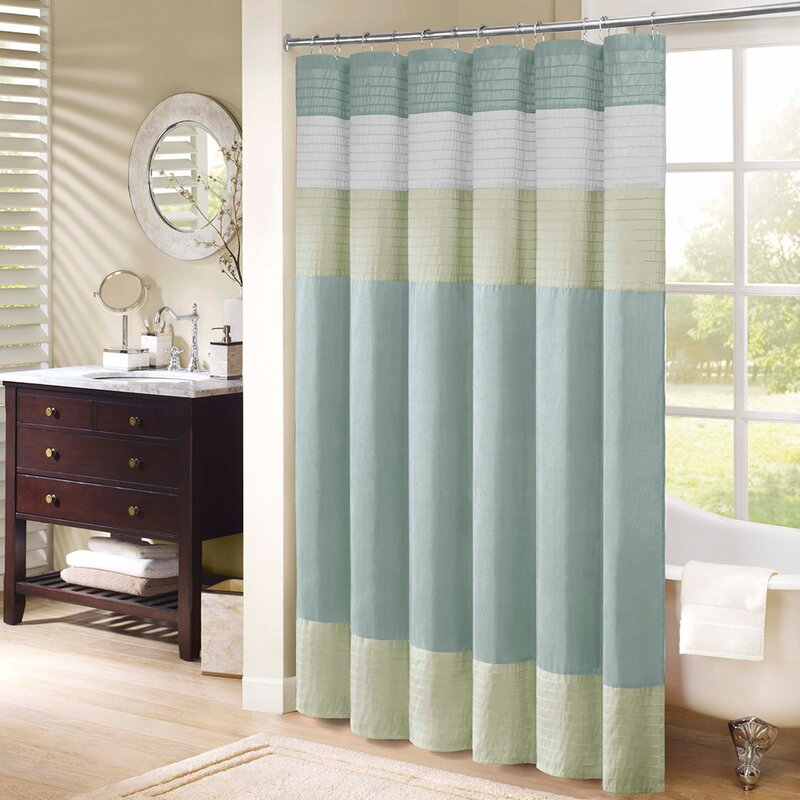 Allport Shower Curtain - Green Shower Curtains You'll Love