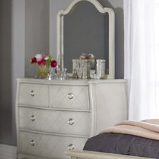 Brayan 4 Drawer Dresser with Mirror by Harriet Bee