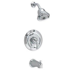 Portsmouth Flowise Dual Bath/Shower Faucet Trim Kit American Standard