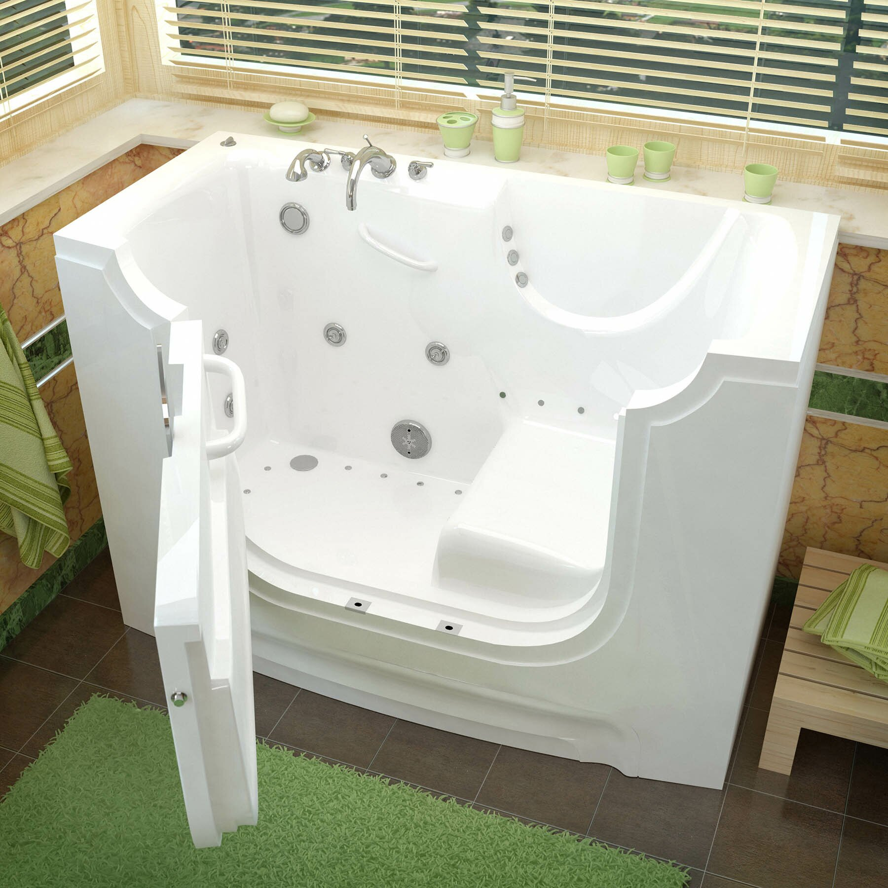 Therapeutic tubs handitub 60 x 30 whirlpool air jetted for Wheelchair accessible homes for sale near me