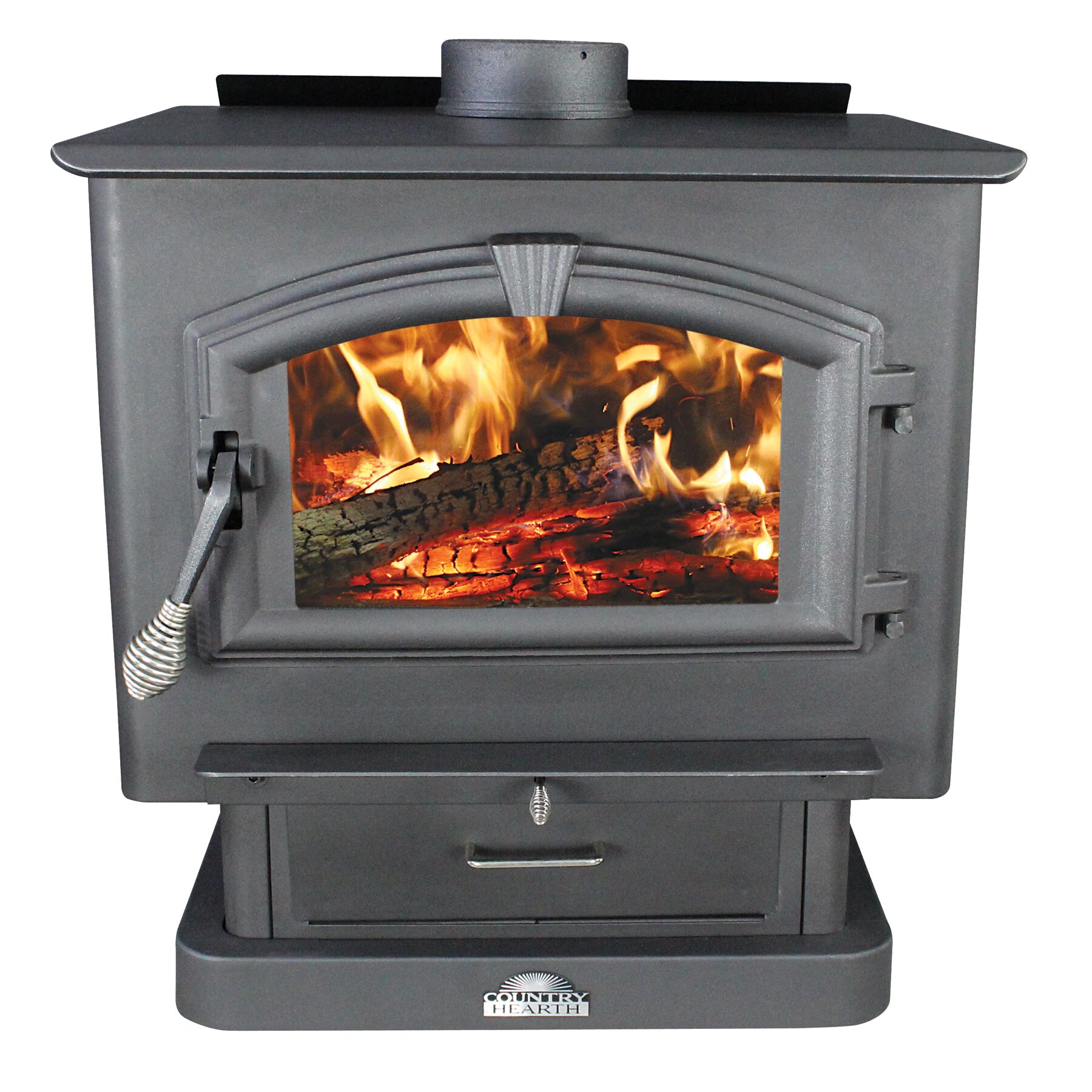 US Stove 2,000 sq. ft. Direct Vent Wood Stove & Reviews | Wayfair