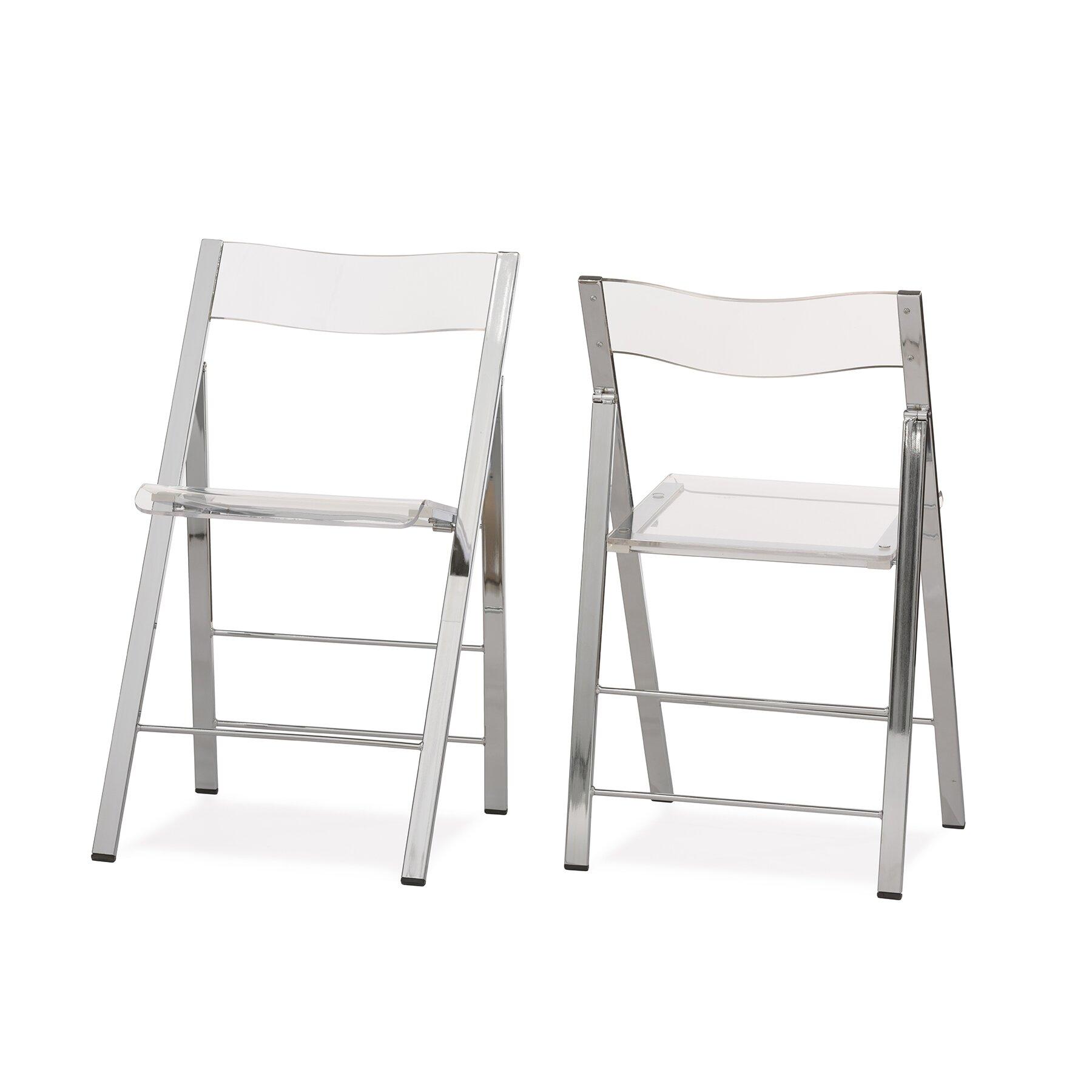 Acrylic Side Chair Living Room