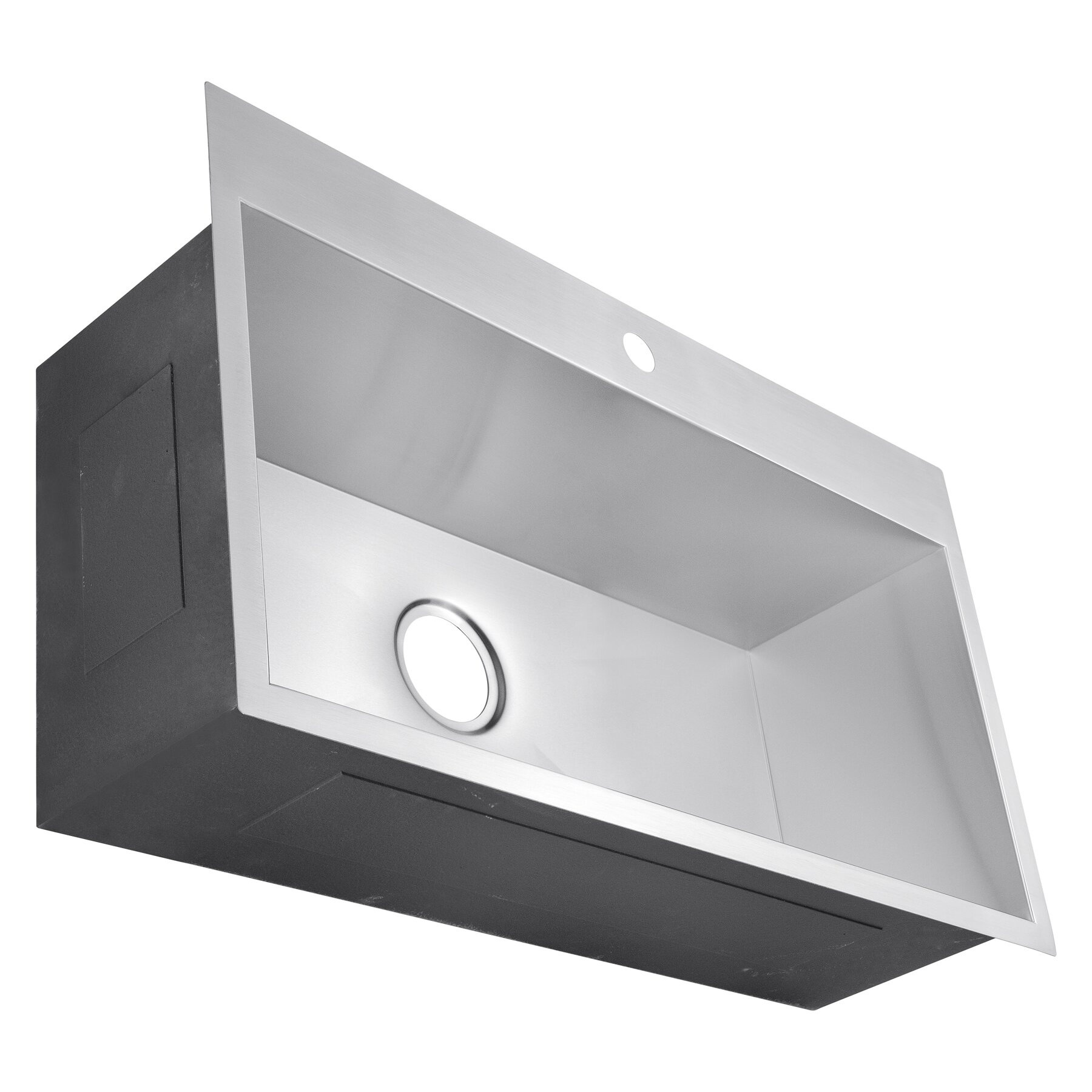 18 x 32 single bowl kitchen sink - Bowl Kitchen Sink