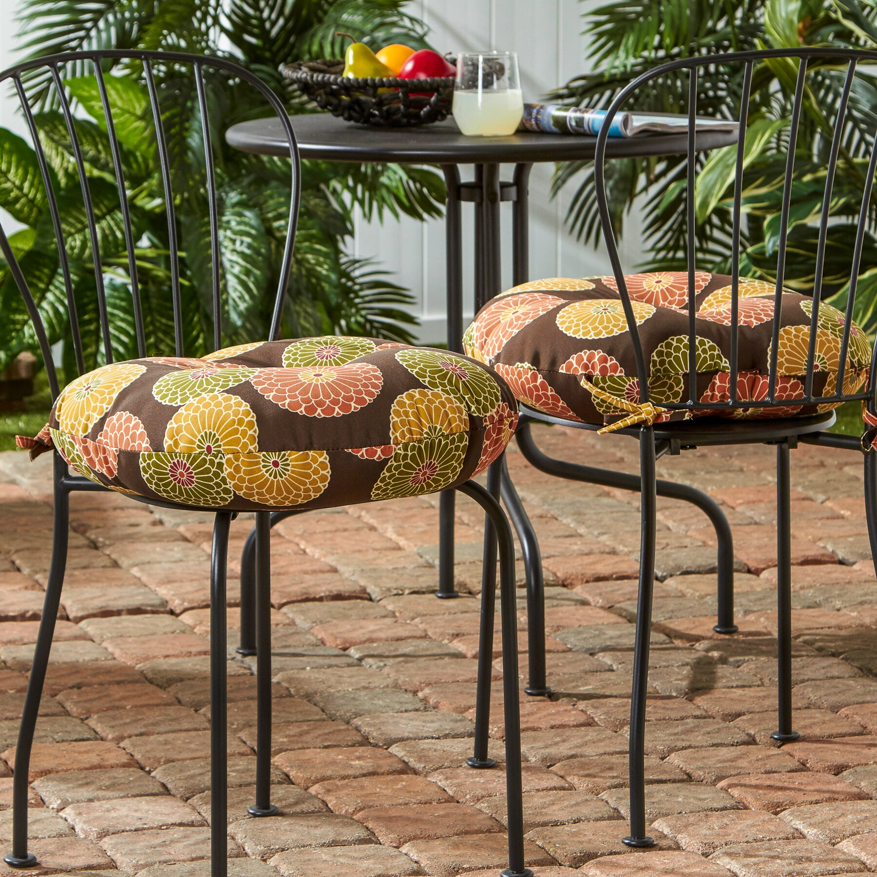 Outdoor dining chair cushions - Outdoor Dining Chair Cushion