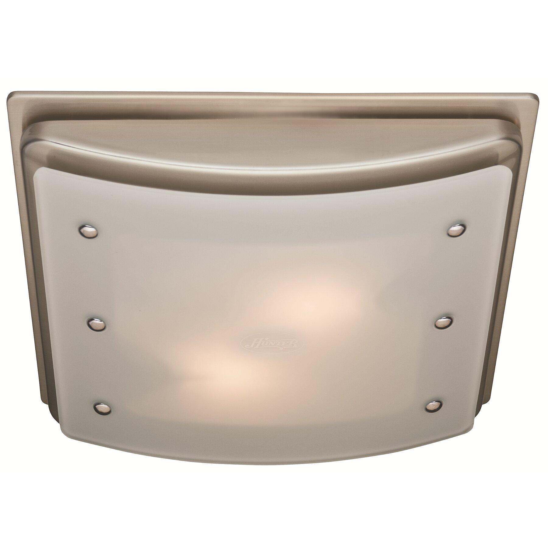 Bathroom heater lights - Ellipse 100 Cfm Bathroom Fan With Light