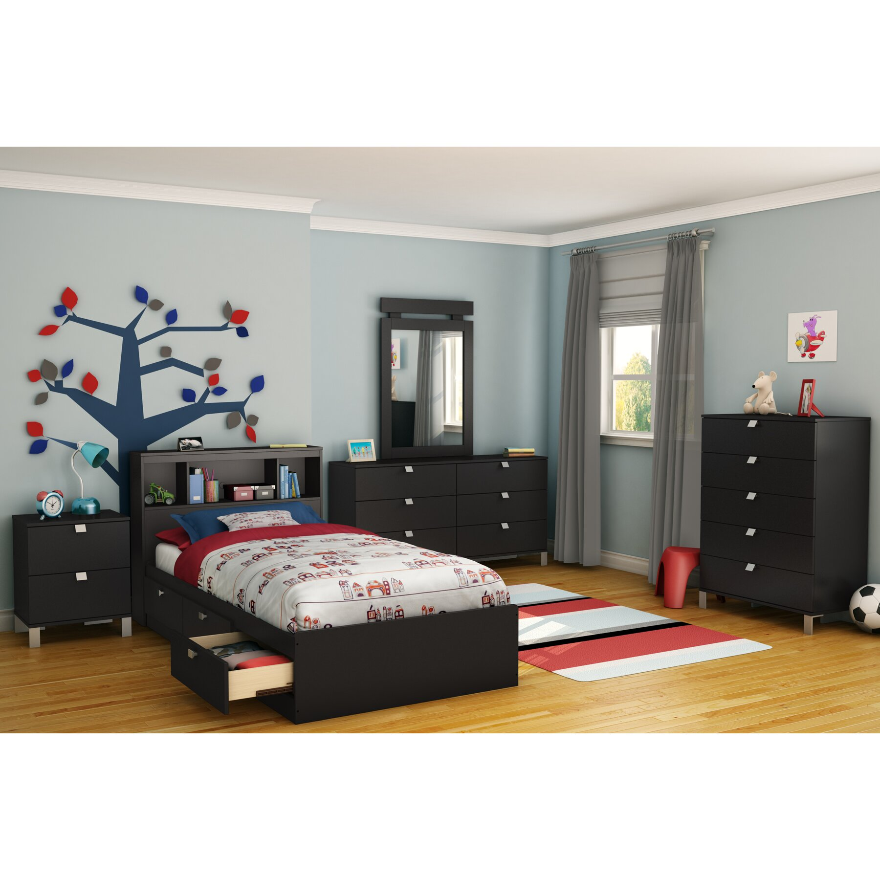 Quick View Spark Platform Customizable Bedroom Set