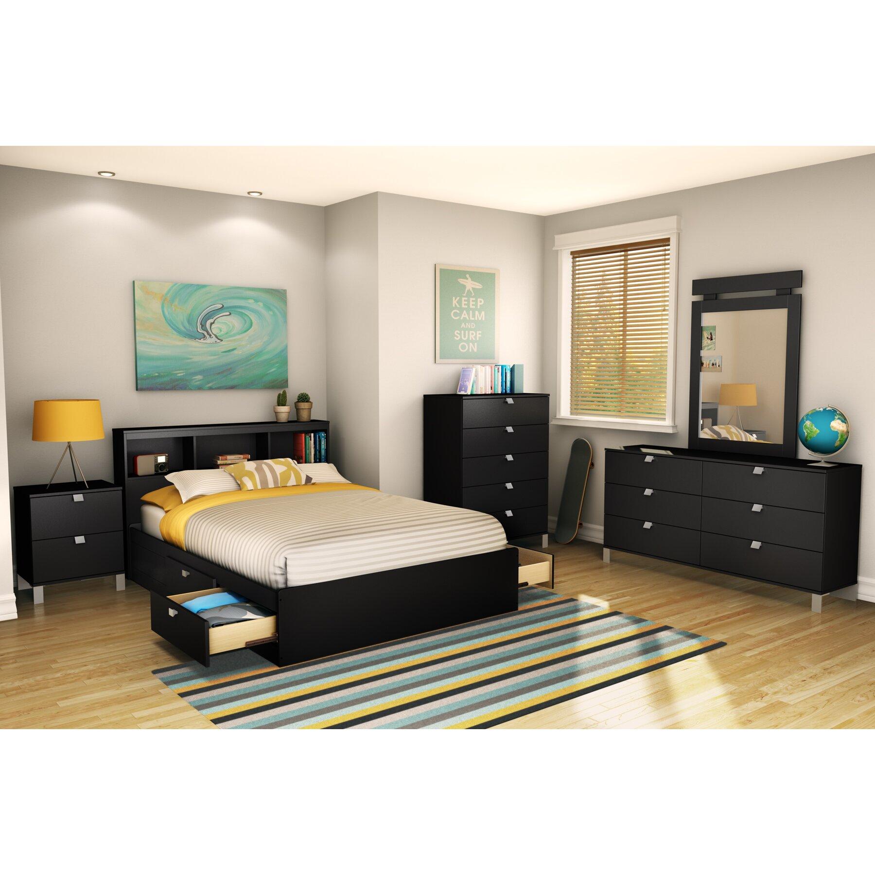 Spark Platform Customizable Bedroom Set